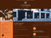 screenshot http://www.echanson.fr/ Restaurant l'échanson à Amiens