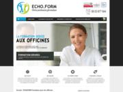 screenshot http://www.echoform.fr echoform