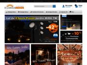 screenshot http://www.eclairage-design.com éclairages décoratifs