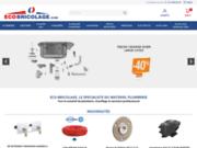 screenshot http://www.eco-bricolage.com matériel bricolage