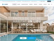 screenshot https://eco-fenetre.com/ Fenêtre PVC Double Vitrage au Maroc