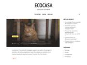 screenshot http://www.ecocasa.fr ecocasa - fournitures ecologiques pour l'habitat