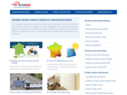 screenshot http://www.ecoden.fr ecoden: energie renouvelable caen