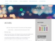 screenshot http://www.ecole-brest-danse.com ecole danse brest, cours de danse de salon