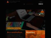 screenshot http://www.ecole-design.com ecole superieure de design et des arts visuels