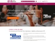 screenshot http://www.ecole-du-vin.fr ecole du vin