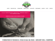 screenshot http://www.ecole-pizzaiolo.fr Formation pizzaiolo