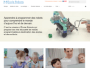 image du site https://www.ecolerobots.com/