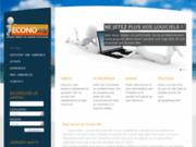 screenshot http://www.econo-me.fr Annonces Licences logiciels