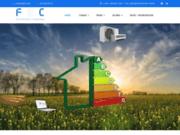 screenshot http://www.ecoreva.fr solutions d'énergie économique