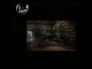 screenshot http://www.ecosculpture.com/ le design végétal, mur végétal, tableau végétal.