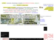 screenshot http://www.ecrivain.pro explications d'un écrivain professionnel en france