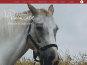 screenshot http://www.ecuries-cavalcade.fr/ club d'équitation pas de calais 62.