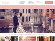 screenshot http://edentime.fr eden time - organisation mariage