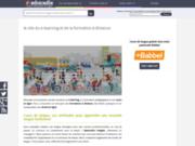 screenshot http://www.educadis.fr/ formation à distance