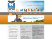 screenshot http://www.educareconseil.com educare  conseil : un soutien parental - éducateur