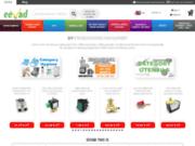 screenshot http://www.eevad.com eevad, e-commerce, annonces et forum pour professionnels hotel-bar-restaurant et particuliers