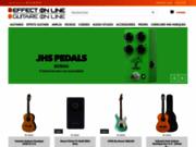 screenshot http://www.effect-on-line.com magasin de musique effect on line, revendeur guitare