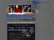 screenshot http://www.eflamm-magie.fetesparfaites.com eflamm, magicien enchanteur