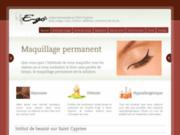screenshot http://ego-stcyprien.fr Esthéticienne sur Saint Cyprien