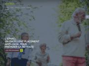 screenshot http://www.ehpad.com/ Maison de retraite
