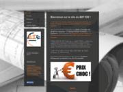 screenshot http://www.eie-bet.fr Bureau d'études techniques EIE