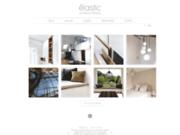 screenshot http://www.elastic.fr architecture d'intérieure à paris