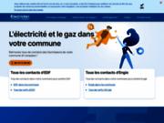 screenshot http://www.electricite.net le site d'infos sur l'électricité et edf
