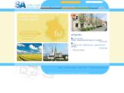 screenshot http://www.elhabitat.fr location de logement en eure et loir