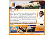 screenshot http://elimane-group.com import export produits alimentaire mali