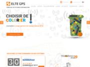 screenshot https://www.eltegps.fr Solutions télématiques dans la gestion de déchets