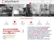 screenshot http://elyotherm.fr elyotherm : energies renouvelables en rhône-alpes