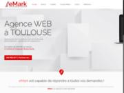screenshot http://www.emark.fr eMark est une agence web qui propose la de sites internet avec ou sans cms