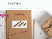 screenshot http://www.embalchoc.com/ emballage chocolat