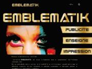 Emblematik: réalisation de supports publicitaires
