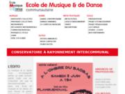 screenshot http://www.emdp22.fr cours de musique et danse à erquy