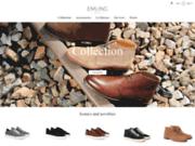 screenshot http://www.emling.fr chaussures hommes