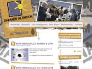 screenshot http://emmaus-alencon.fr emmaüs alençon