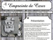 screenshot http://www.empreintedecoeur.com pampille en céramique artisanale