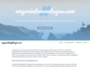 screenshot http://www.empreintemontagne.com empreinte montagne