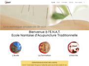 screenshot http://www.enat.site acupuncture