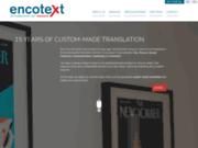 Encotext : traduction institutionnelle