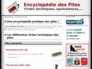 L'encyclopédie des piles - vous guidez parmi toutes les piles connues