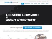 screenshot http://www.endurancelogistique.fr la logistique  de la mode et du e-commerce