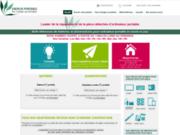 screenshot http://www.energie-portable.com/ vente d'alimentation d'origine constructeur et de batterie pour ordinateur portable