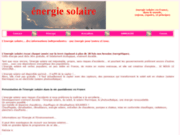 Energie solaire dossiers informations forum