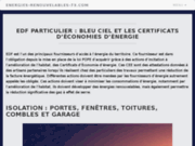 screenshot http://www.energies-renouvelables-73.com/ avenir confort