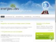 screenshot http://www.energiesdev.com Conseils et Stratégie en achats d'énergies