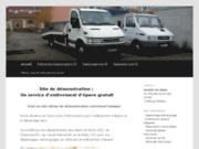 screenshot http://www.enlevement-epave-92.fr/ dépannage eugène horn
