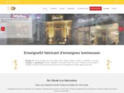screenshot http://www.enseigne03.net/ Enseigne03